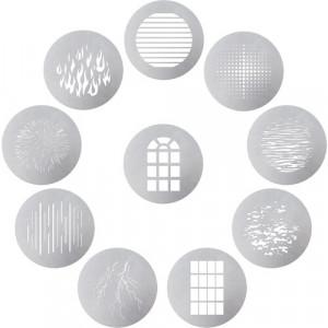 Набор фильтров Aputure Spotlight 10-Piece Gobo Kit (AMO10GOBOKITB)