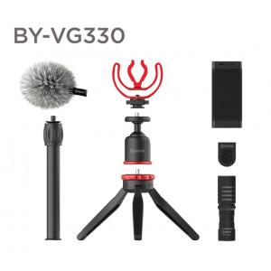 Набор для Влогеров BOYA BY-VG330 с петличными микрофоном BY-MM1