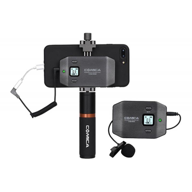 Петличная радиосистема COMICA CVM-WS50B для смартфонов