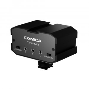 Звуковая карта COMICA 3.5mm Dual-Groups Audio Mixer