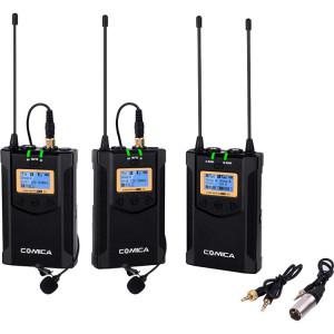 Радиосистема Comica Audio CVM-WM100-PLUS UHF Wireless Dual Microphone System with 1-Receiver