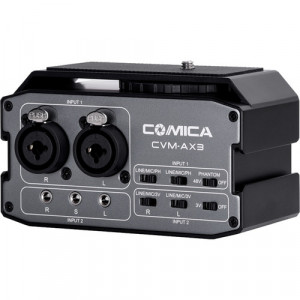 Comica Audio CVM-AX3 Dual-Channel Audio Mixer for DSLRs