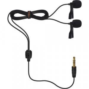 Петличный микрофон COMICA Dual-head Lavalier Microphone CVM-D02 (B4.5m)