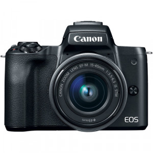 Canon EOS M50 Kit 15-45 IS STM Black