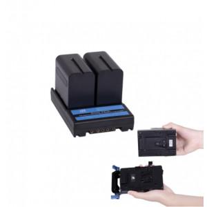 Аккумуляторный адаптер DIGITALFOTO DF-F970L для  F970L F550 F570 F770 F970