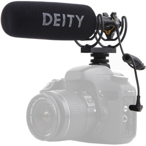 Микрофон Deity Microphones V-Mic D3 Pro Supercardioid On-Camera Shotgun Microphone with Rycote Lyre Suspension