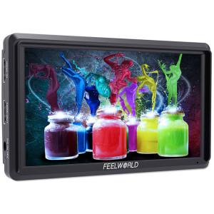 "FeelWorld FW568 накамерный монитор 5.5""-дюймовый"