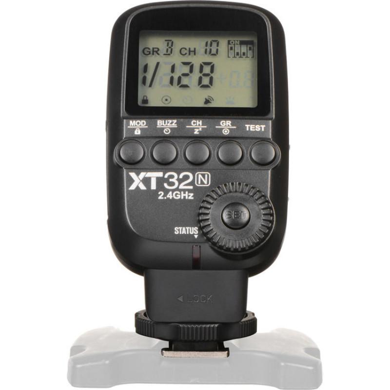 Радиосинхронизатор Godox XT32N радио-триггер для Nikon