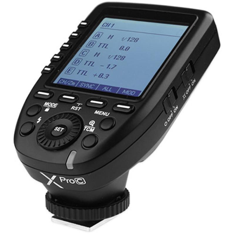 Радиосинхронизатор Godox XPro трансмиттер для Canon