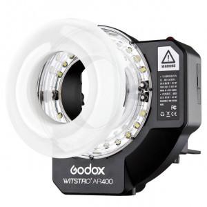 Мощная кольцевая вспышка Godox AR400