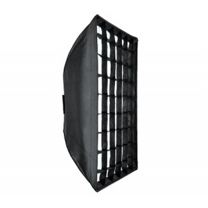 Студийный зонт софтбокс Godox Umbrella Softbox  with Velco, with grid, with Bowens Adpater (80*120 см)
