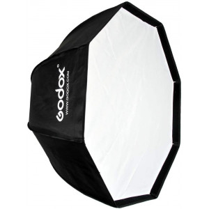 Студийный зонт софтбокс Godox Umbrella Softbox without Velco,with Bowens Adpater (Octa 80 см)