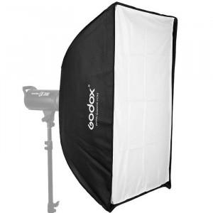 Софтбокс быстроскладной Godox SB-US6090 Umbrella Softbox without Velco, with Bowens Adpater 60*90 см