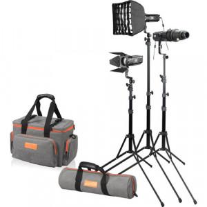Комплект студийного света Godox S30-D Focusing LED 3-Light Kit