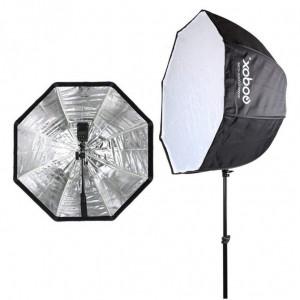 Зонт октагон Godox SB-UBW80 80 см для накамерных вспышек
