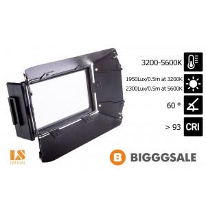 Cветодиодный накамерный видео свет Lishuai LED-170DS (Би-светодиодная)