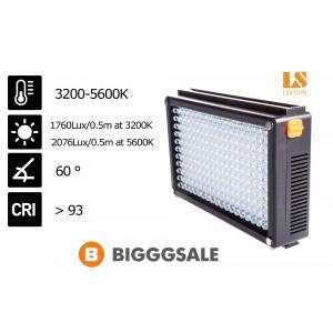 Cветодиодный накамерный видео свет Lishuai LED-209AS (Би-светодиодная)