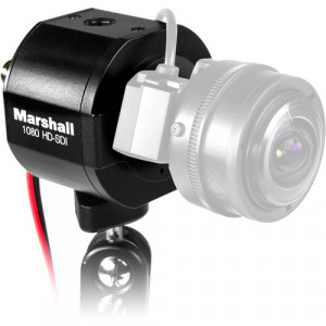 Marshall Electronics CV343-CSB 2.5MP 3G-SDI/Composite Compact Broadcast Compatible Camera (Power Pigtail)