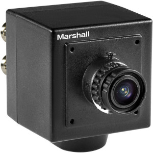 Камера Marshall Electronics CV502-M 2.5MP 3G-SDI Compact Progressive Camera with 3.7mm Lens (M12 Mount, Power Pigtail)