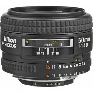 Nikon AF 50mm f/1.4D