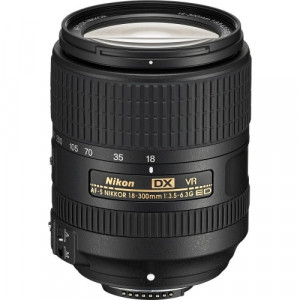 Nikon AF-S 18-300mm f/3.5-6.3G ED-IF DX VR