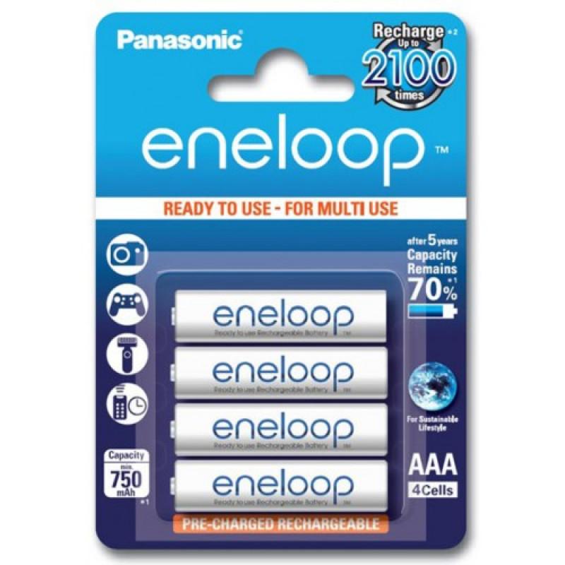 Аккумуляторы Eneloop Panasonic ААА (4 шт)