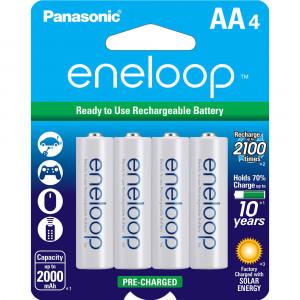 Аккумуляторы Panasonic Eneloop типа AA (4 шт) Оригинал