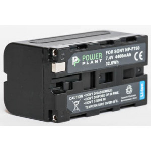 Aккумулятор PowerPlant Sony NP-F750 4400mAh