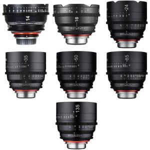 Rokinon Xeen 14, 16, 24, 35, 50, 85, 135mm Cine 7 Lens Bundle (Canon EF)