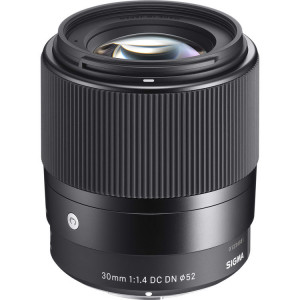 Обьектив Sigma 30mm f/1.4 DC DN Contemporary Lens for Sony E
