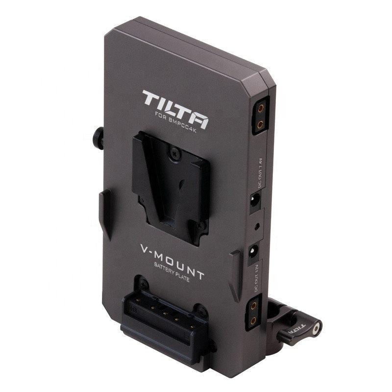 Аккумуляторная площадка Tilta V-Mount Battery Plate for BMPCC 4K Camera Cage