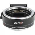 Переходник Viltrox EF-EOS R Lens Mount Adapter for Canon EF or EF-S-Mount Lens to Canon RF-Mount Camera