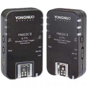 Синхронизатор Yongnuo YN-622C II E-TTL для Canon (2-Pack)