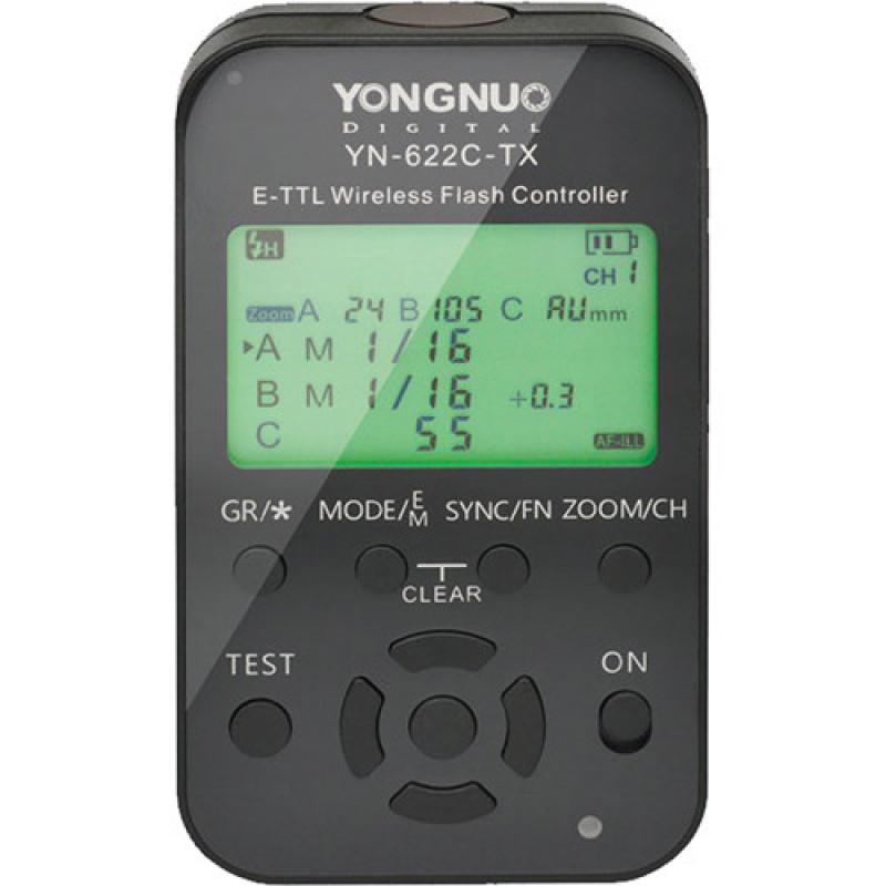 Синхронизатор Yongnuo YN-622C-TX E-TTL II для Canon