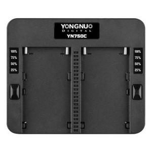 Зарядное устройство Yongnuo YN750C для аккумуляторов Sony NP-F750/F960/F970