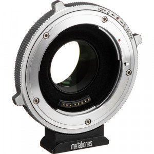 Metabones T CINE Speed Booster XL 0.64x Adapter for Canon EF Lens to BMPCC 4K Camera