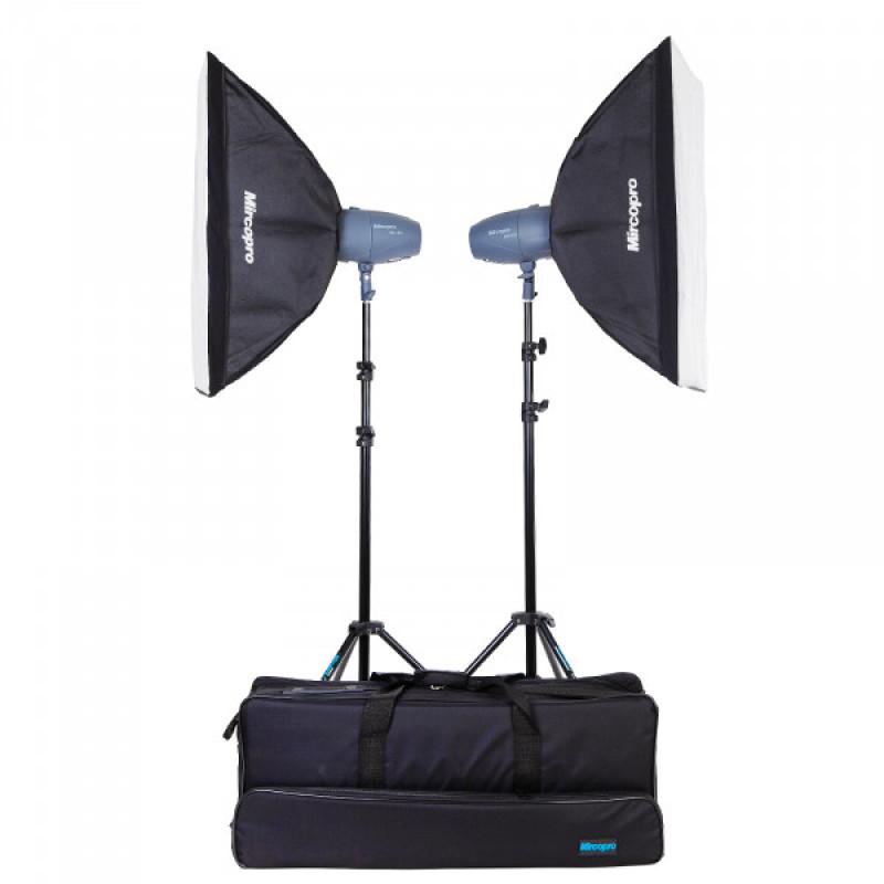 Набор студийного света Mircopro MQ-150S + софтбоксы