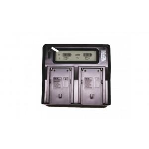 Зарядное устройство Newell LCD DC Dual для Sony NP-F