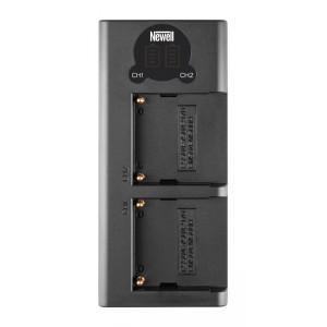 Зарядное устройство Newell LCD-USB-C для NP-F550/770/970