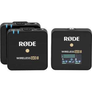 Компактная беспроводная микрофонная система Rode Wireless GO II 2-персоны