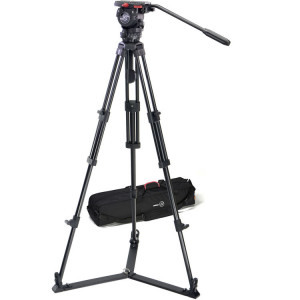 Sachtler 0471 Aluminum Tripod System with FSB 6 Head, ENG 75/2 Legs, Ground Spreader