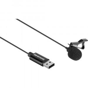 Петличный микрофон Saramonic SR-ULM10 с USB-A