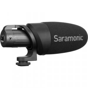 Линейный накамерный микрофон Saramonic CamMic+ для DSLR камер и смартфонов