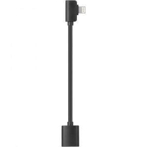 Кабель Saramonic DITC80 Lightning с переходником мама-папа для смартфонов под стабилизатор