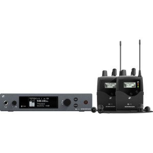 Радиосистема Sennheiser ew IEM G4-Twin Wireless Monitor System Kit (A: 516 to 558 MHz) (EW IEM G4-TWIN-A)