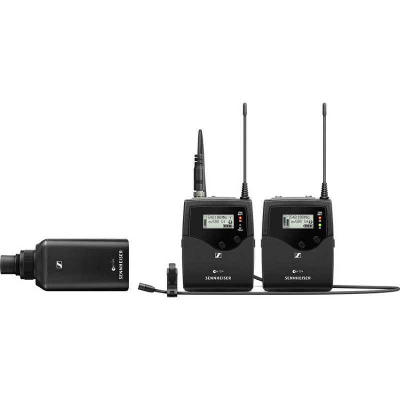 Sennheiser EW 500 FILM G4 Camera-Mount Wireless Combo Microphone System (GW1: 558 to 608 MHz)