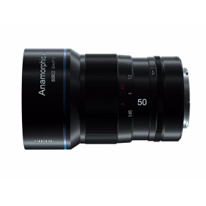 Анаморфный объектив SIRUI Anamorphic Lens 1,33x 50mm /f1.8 M 4/3 for Z CAM