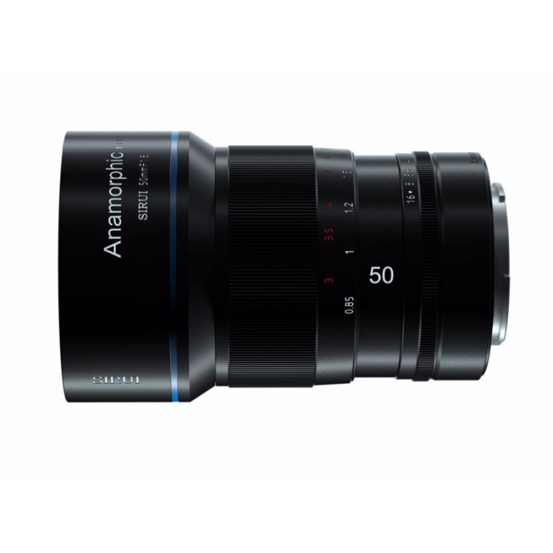 Анаморфный объектив SIRUI Anamorphic Lens 1,33x 50mm f/1.8  Sony E-Mount