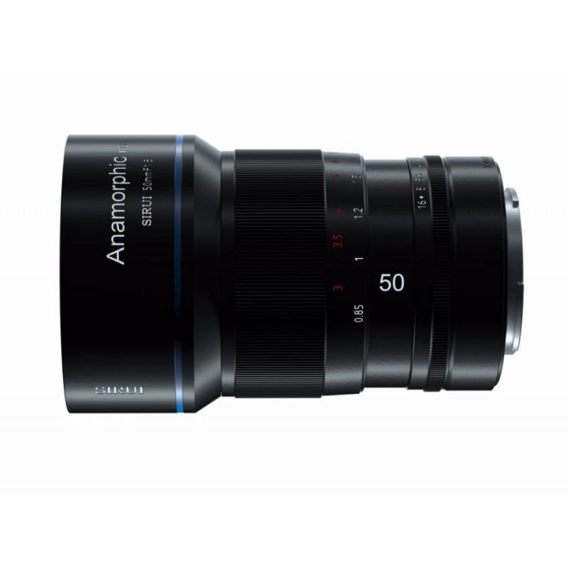 Анаморфный объектив SIRUI Anamorphic Lens 1,33x 50mm f/1.8 MFT-mount