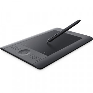 Wacom PTH451 Intuos Pro Professional Pen & Touch Tablet (Black, Small)